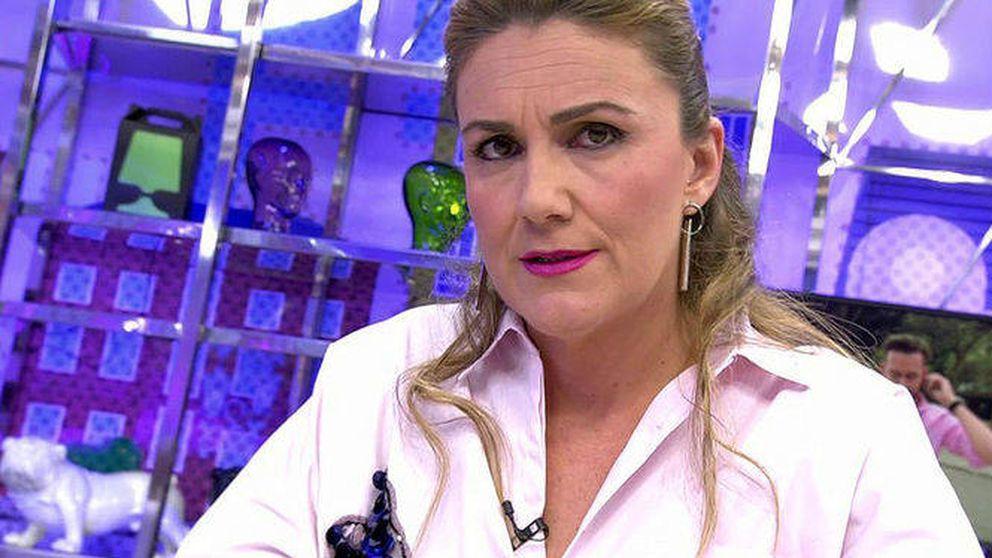 Carlota Corredera, molesta con Kiko Hernández, envía un dardo en 'Sálvame'
