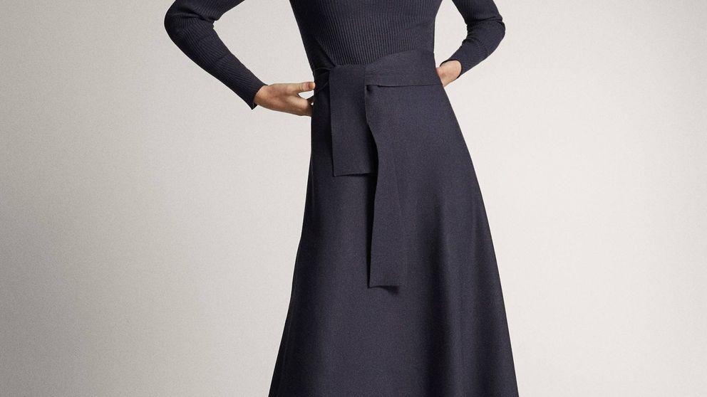 El vestido de Massimo Dutti que le puedes regalar a tu madre y es trendy