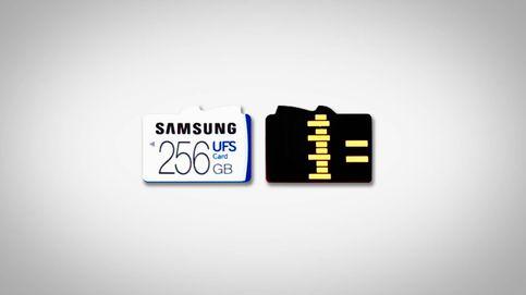 Llega la tarjeta UFS: almacena hasta 256GB y es cinco veces más rápida