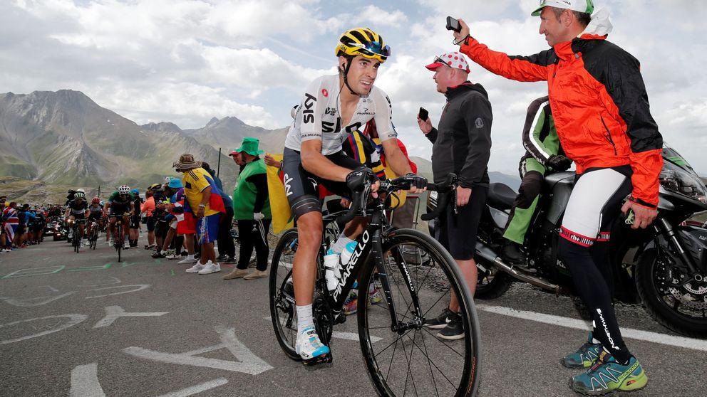 Mikel Landa ejerce de jefe y gana la primera de la Vuelta de Burgos