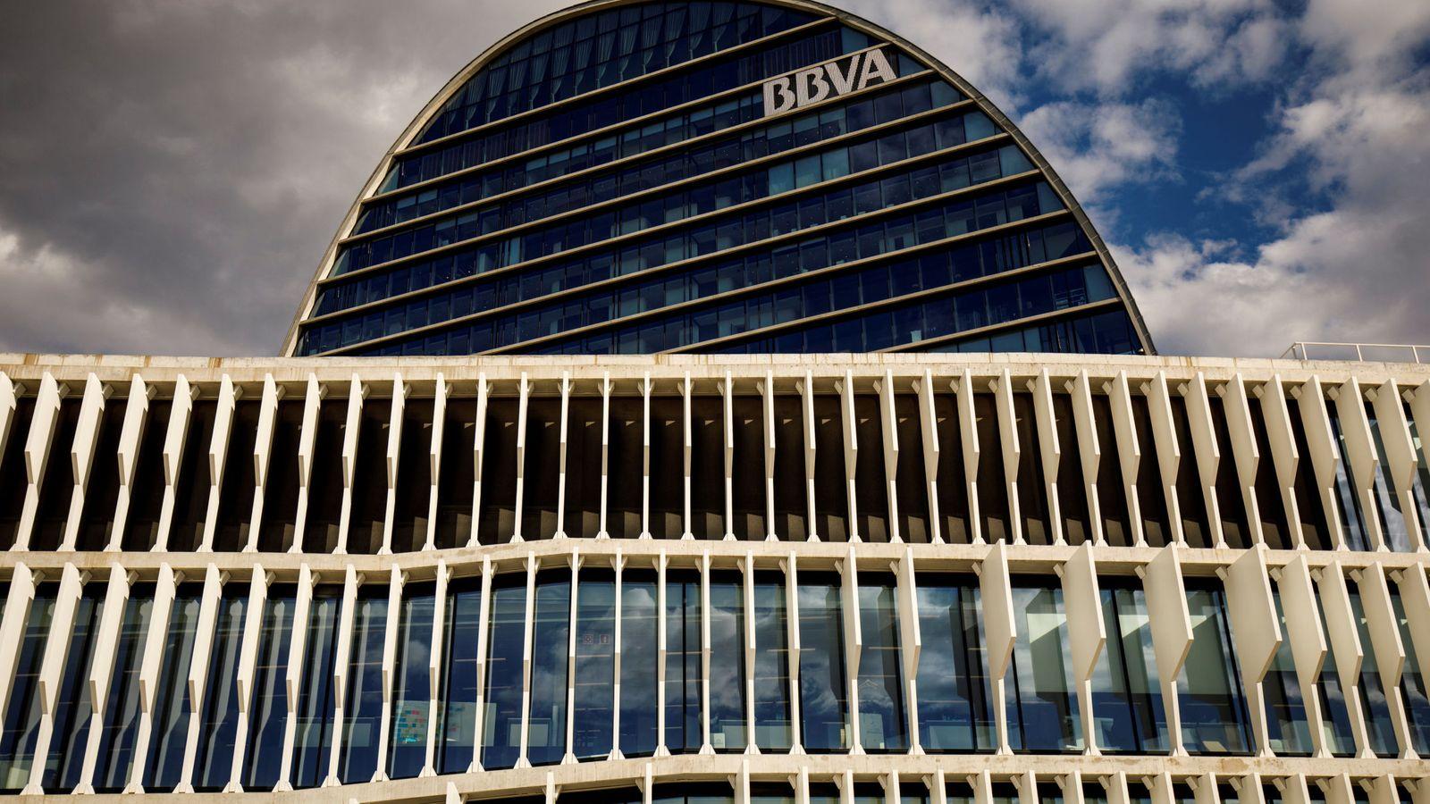 Foto: La sede de BBVA en Madrid. (Reuters)