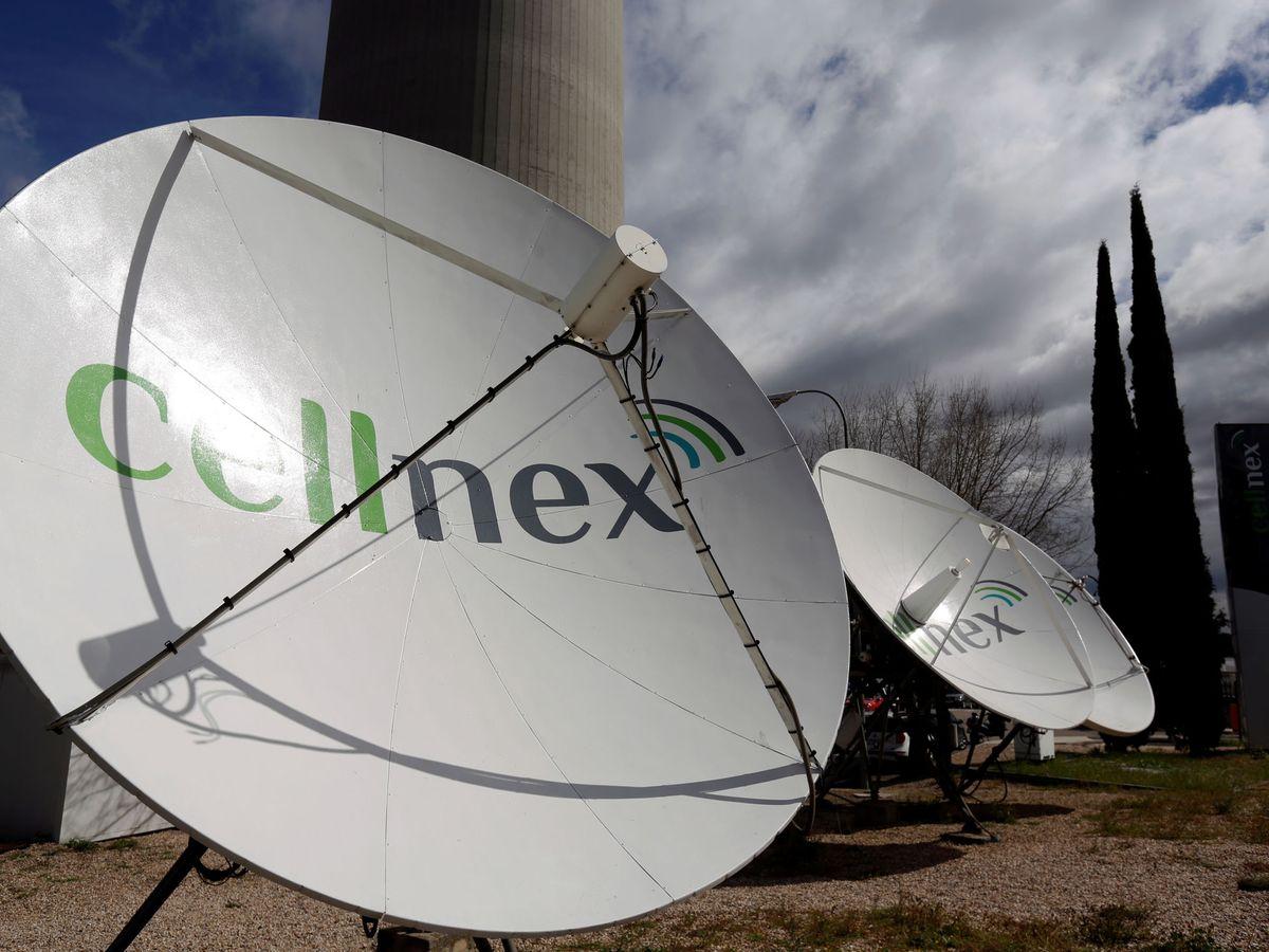 Foto: Antenas de Cellnex en el Pirulí de Madrid. (Reuters)