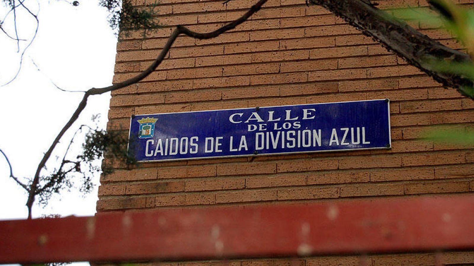 Foto: Una muestra del callejero franquista de Madrid. (EC)