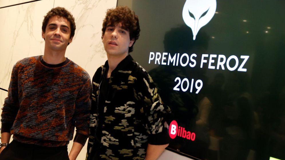 Foto: Los Javis fueron los encargados de desvelar los candidatos de este año a los Premios Feroz (EFE)