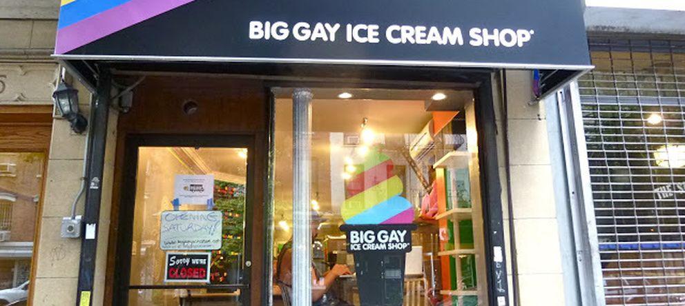 Foto: La cadena 'Big Gay Ice Cream Shop' fue una de las primeras en explotar el concepto de la 'econogay'. (Facebook)