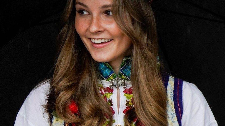 Ingrid Alexandra en la celebración del Día Nacional. (@Detnorskekongehuset)