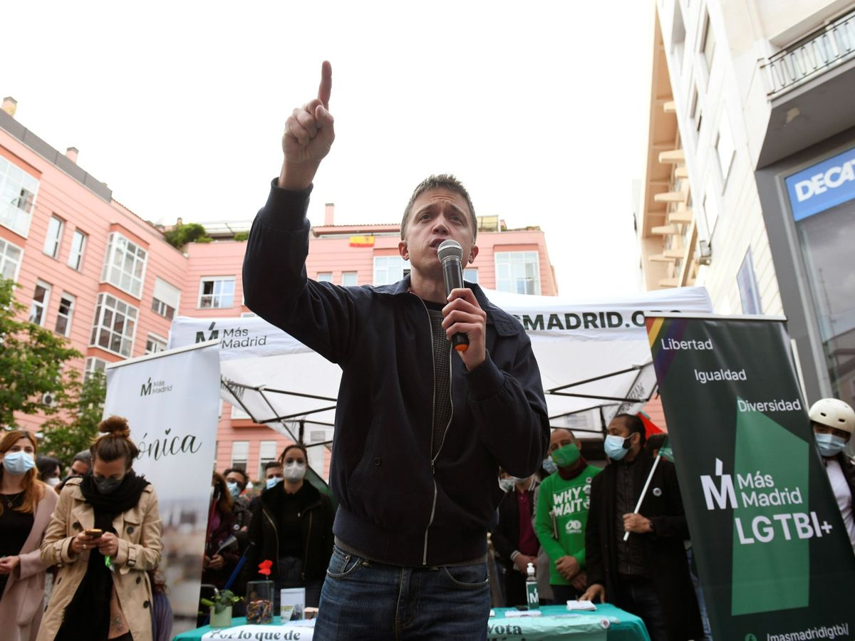 Foto: El diputado por Más País Íñigo Errejón. (EFE)