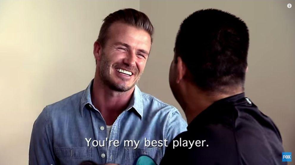 David Beckham sorprende a una familia con 100.000 dólares