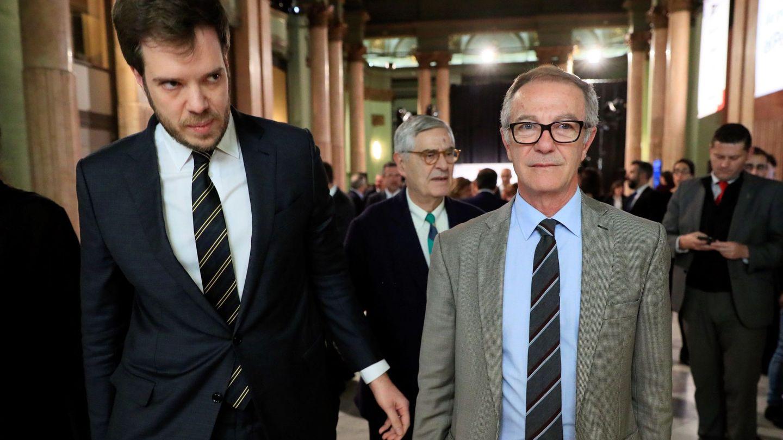 Antonio Asensio (i), con el ministro de Cultura, José Guirao, en 2018. (EFE)