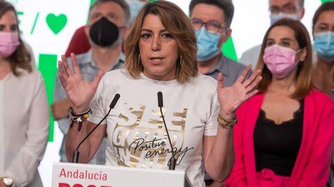 Susana Díaz salva otra vez a Pedro Sánchez