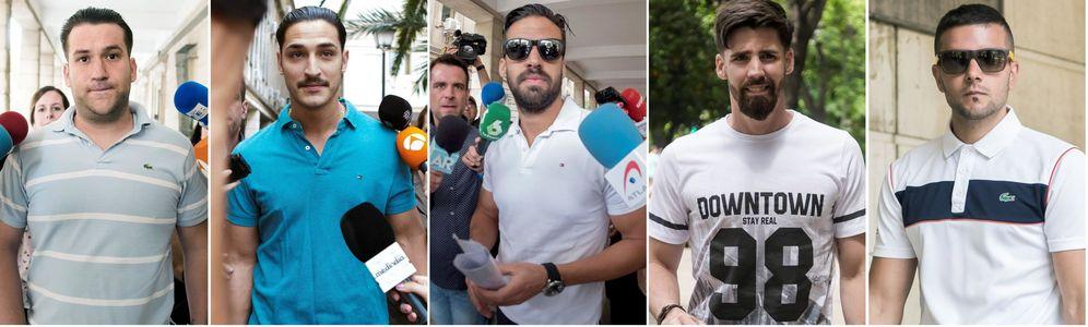 Foto: Los cinco miembros de La Manada seguirán en libertad provisional