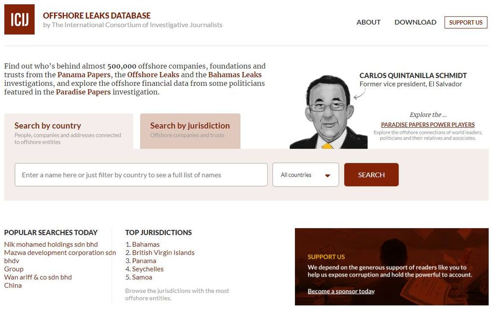 Foto: Offshore Leaks Database