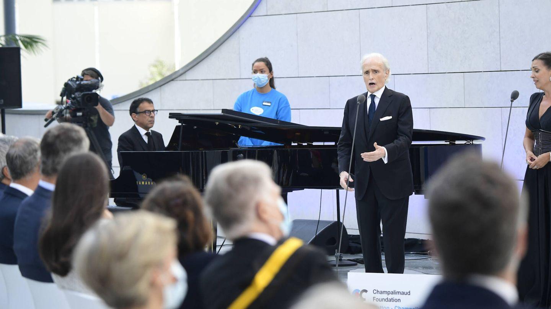 La actuación de Josep Carreras. (Limited Pictures)