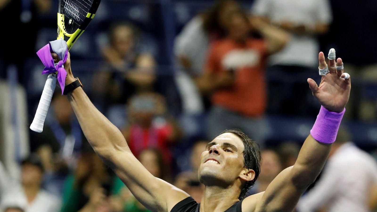 Foto: Rafael Nadal tras derrotar a Diego Schwartzman. (EFE)