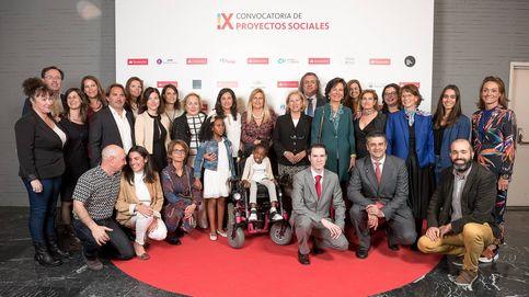 El Banco Santander entrega 437.880 euros a once proyectos sociales