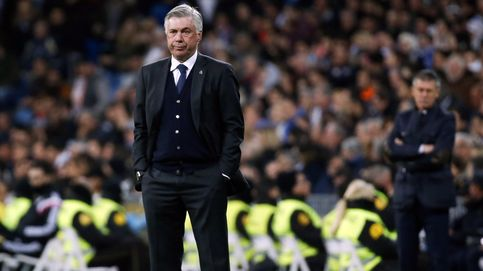 Ancelotti, el más castigado por los pitos del Santiago Bernabéu