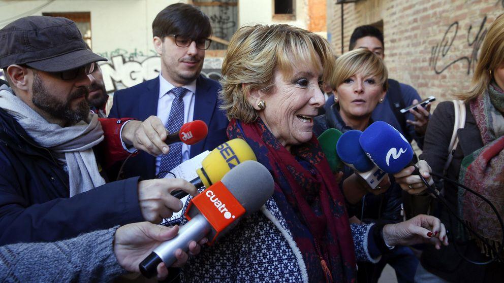 Esperanza Aguirre: No vigilé la financiación porque estaba ocupada con los hospitales