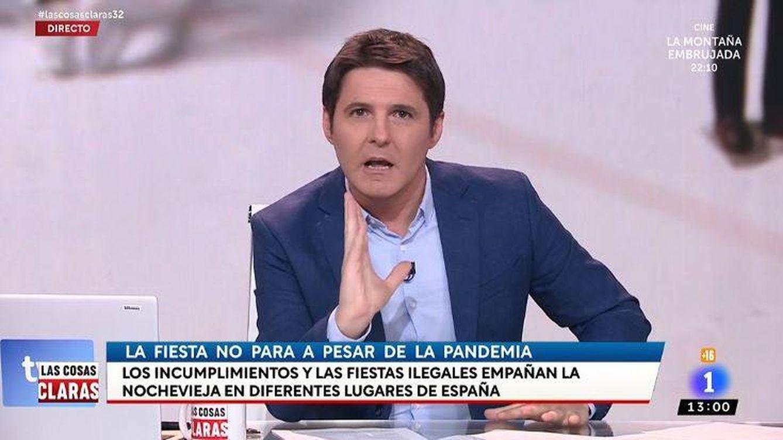 El palo de Jesús Cintora a una colaboradora por arremeter contra el Gobierno de Sánchez