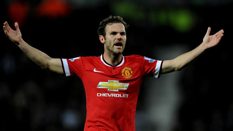 Foto: Mata ya no es indiscutible en el Manchester United (AP).