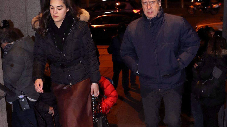 Cayetano Martínez de Irujo a su llegada al funeral de Carmen Franco. (EFE)