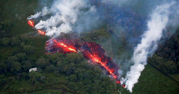 El carbono emitido por las rocas volcánicas puede generar calentamiento global