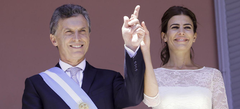 Foto: Mauricio Macri y Juliana Awada