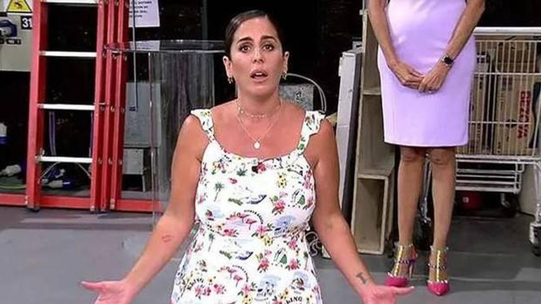 Anabel Pantoja, en 'Sálvame'. (Telecinco)