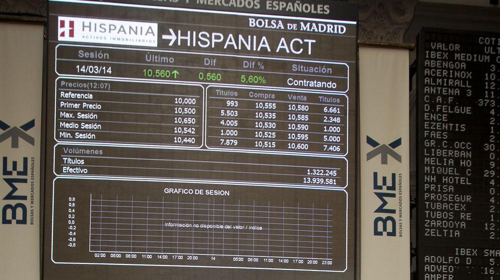 Foto: Toque de campana de Hispania, en marzo de 2014. (EFE)