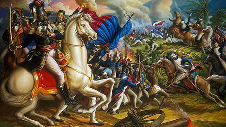 'La batalla de Vertières', de Jean-Pierre Ulrick.