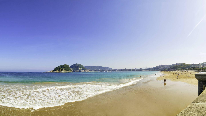Playa de La Concha, San Sebastián. (iStock)