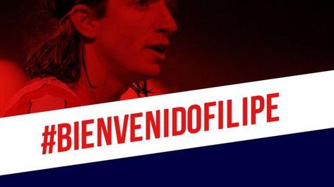 Filipe Luis vuelve al Atlético de Madrid