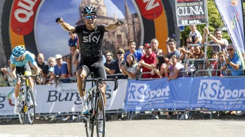 Mikel Landa hace doblete en Burgos y enseña los galones a la promesa Mas