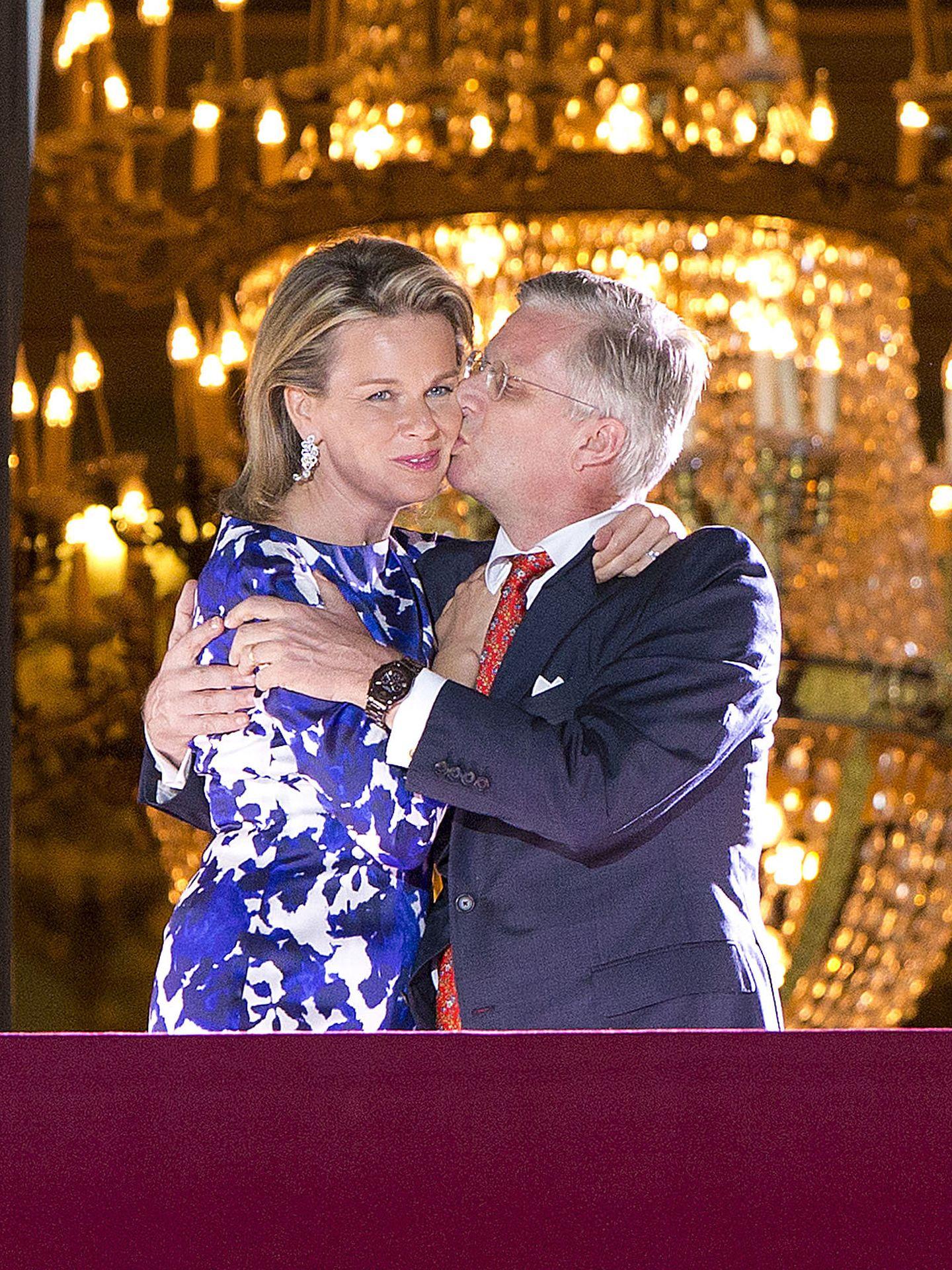 Matilde y Felipe el día de su entronización (Gtres)
