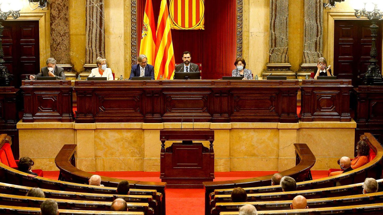 Pleno del Parlament. (EFE)