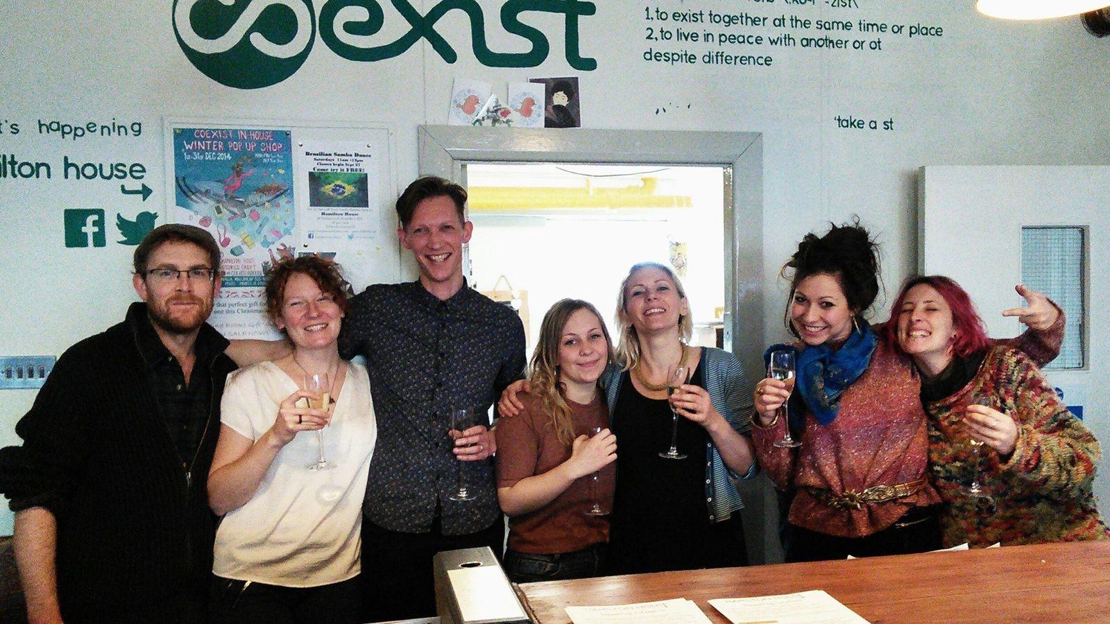 Foto: Algunos de los trabajadores de Coexist. (Coexist Facebook)