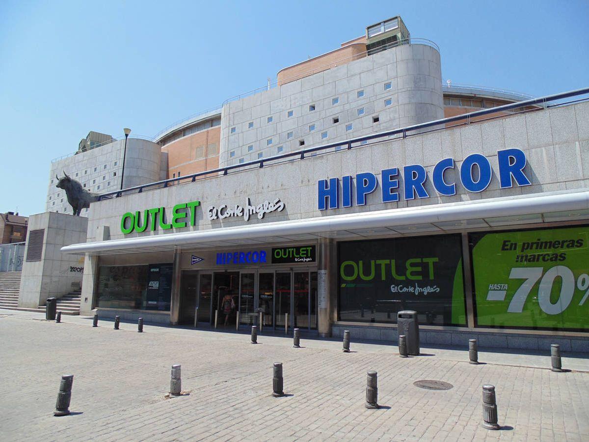 Foto: Centro comercial de Vista Alegre de El Corte Inglés. (ECI)
