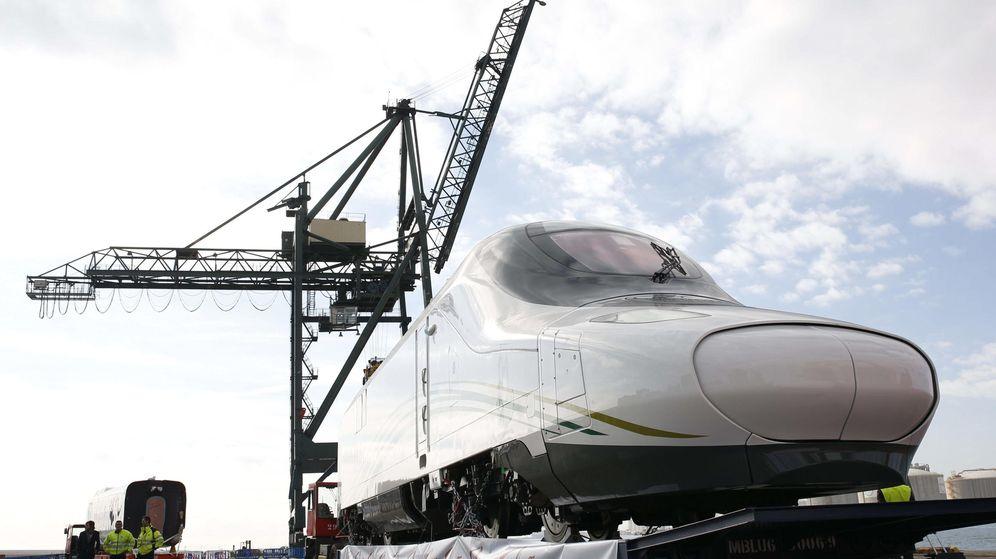 Foto: AVE Talgo fabricado para Arabia Saudí, conocido como el 'tren de los peregrinos'. (EFE)