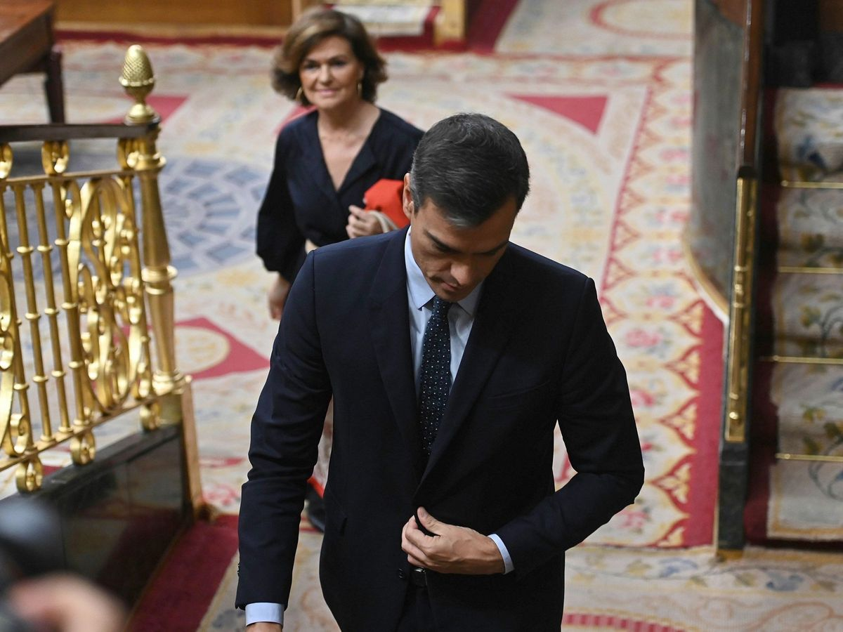 Foto: Sesión de control al Gobierno.