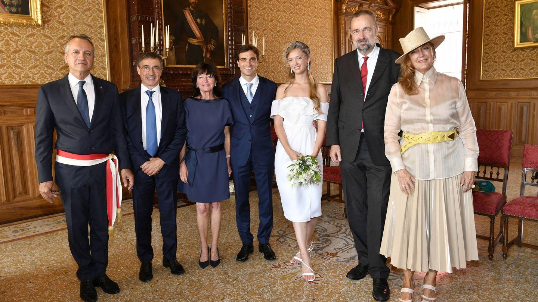 La boda de Eleonore de Habsburgo. (Getty)