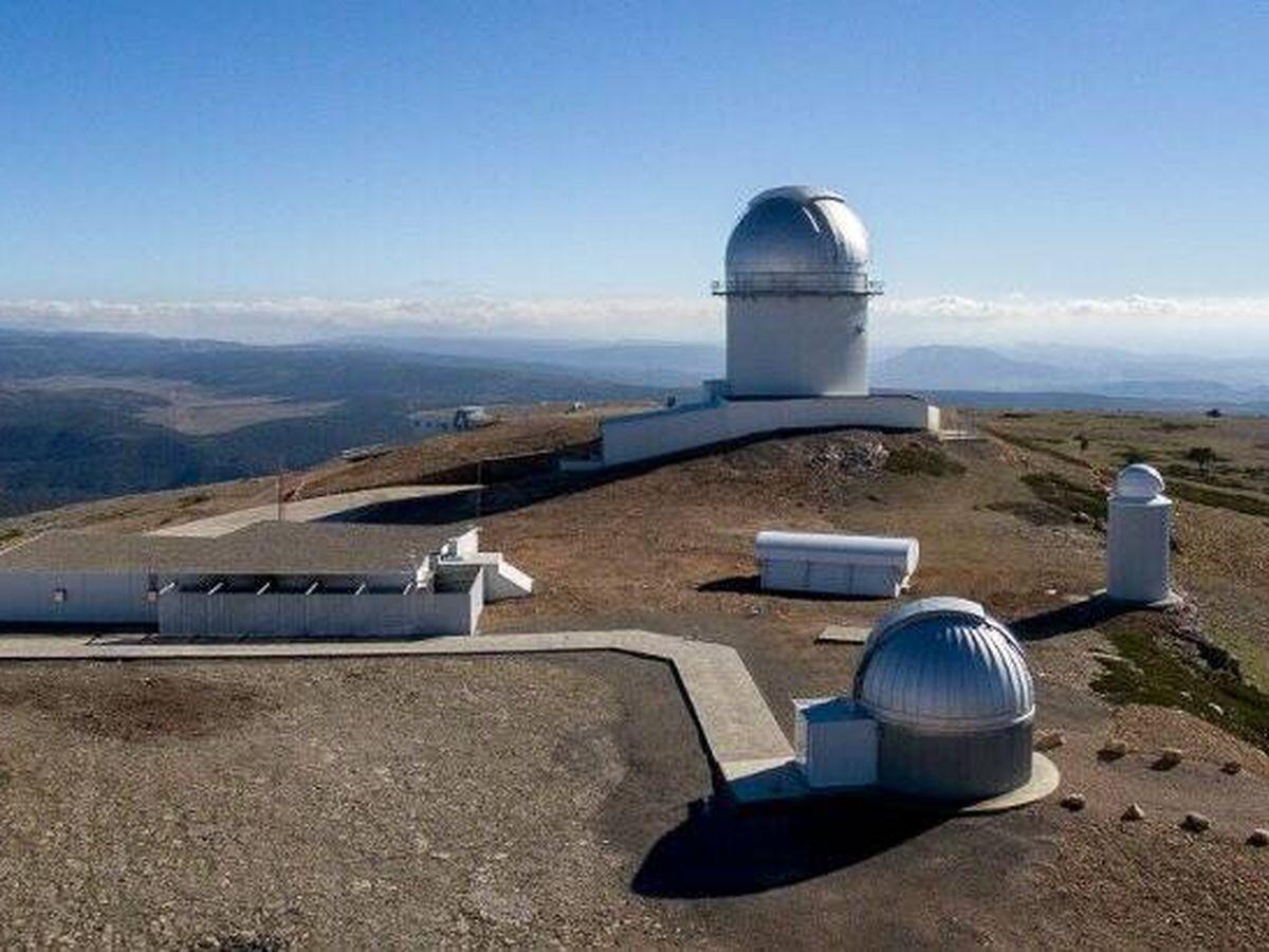Foto: El Observatorio Astrofísico de Javalambre. (Gobierno de Aragón)