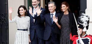 Post de Tras 5 grandes estrenos, Letizia cierra su agenda en Argentina con un look reciclado