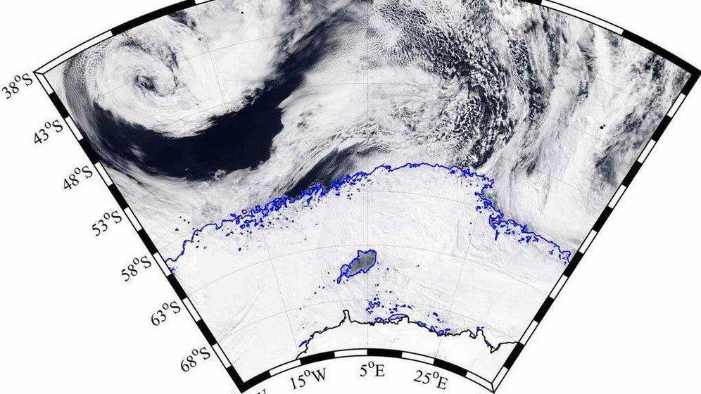 Foto: Situación geográfica del agujero. (NASA)