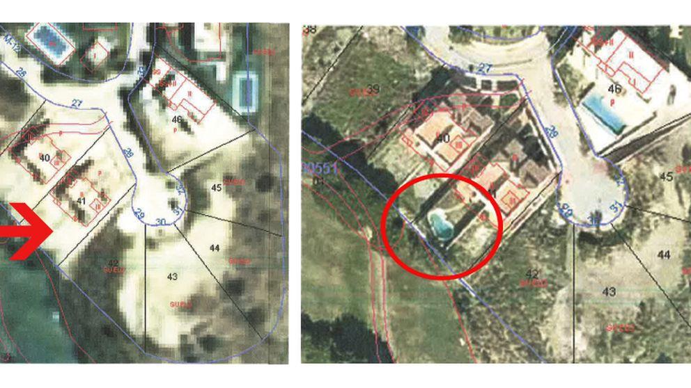 Las fotos de la piscina ilegal del 'número tres' del PSOE andaluz