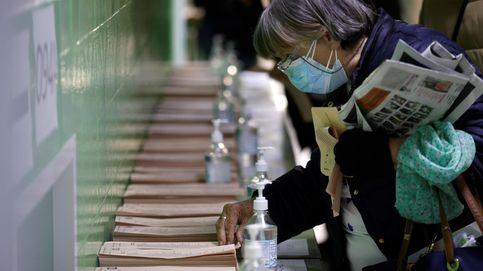 Participación histórica: el 76,25% vota en un Madrid en pandemia