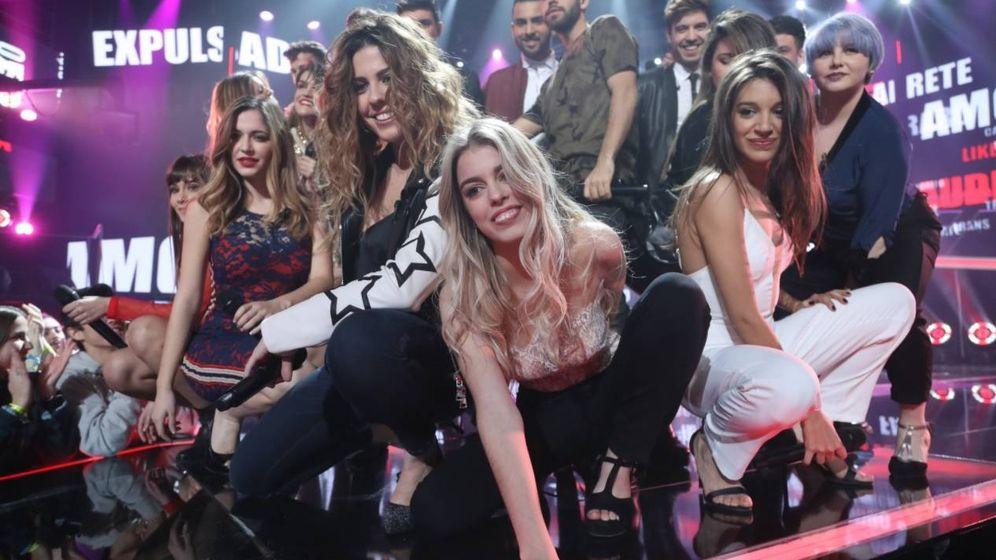Foto: Los 16 concursantes de 'Operación Triunfo' interpretaron 'La revolución sexual'.