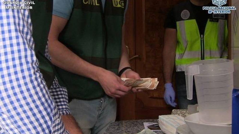 Foto: La Policía Nacional y la Guardia Civil desmantelan una organización criminal dedicada al blanqueo de capitales (Ministerio del Interior)