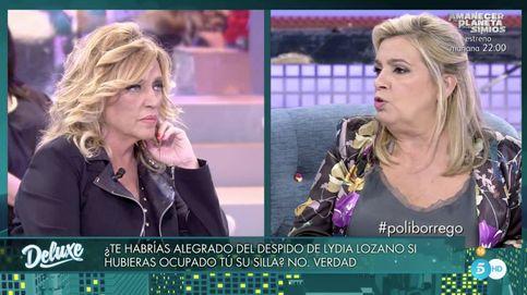 El maquillaje deLydiaLozano eclipsa el polígrafo de Carmen Borrego