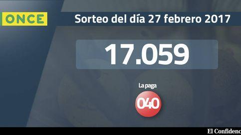 Resultados de la ONCE del 27 febrero 2017: número 17.059