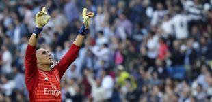 Post de La sugerencia de Zidane a un Keylor Navas 'traicionado' en el Real Madrid