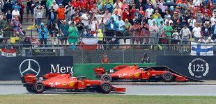 Post de Charles Leclerc: por la boca muere el pez en Ferrari